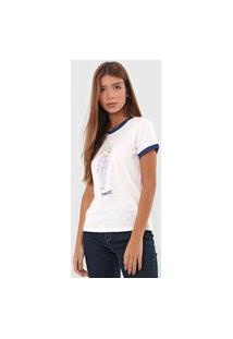 Camiseta Polo Ralph Lauren Bear Off-White