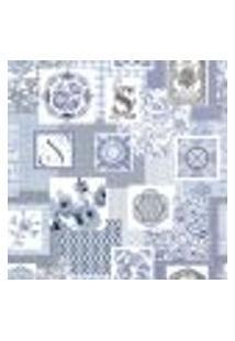 Papel De Parede Adesivo Decoração 53X10Cm Azul -W29706