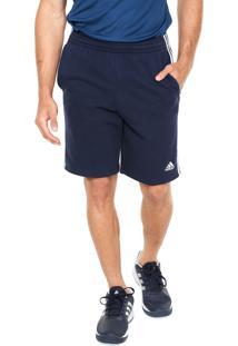 Bermuda Adidas Performance Ess 3S Ft Azul