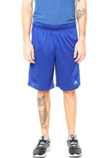 Bermuda Adidas Performance Essential Croyal Azul