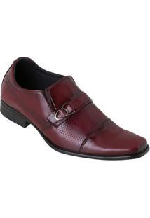 Sapato Bordô Em Verniz