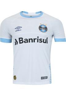 Camisa Grêmio Ii 2018 Oficial Umbro Branca