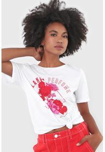 Camiseta Lança Perfume Appreciation Branca