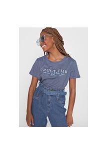 Camiseta Polo Wear Mistery Azul