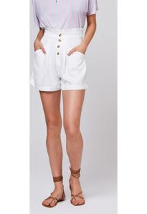 Shorts Feminino Cintura Alta