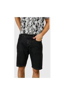 Bermuda Jeans Preto D Bell