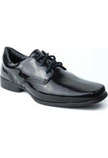 Sapato Social Zariff Infantil Verniz