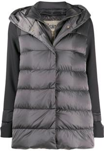 Herno Layered Down Jacket - Cinza