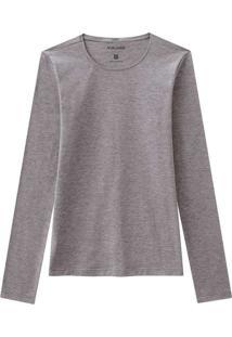 Camiseta Feminina Malwee 1000026304 60000-Cinza-Me