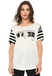 Camiseta Forum Estampada Off-White