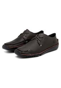 Sapato Em Couro Hayabusa Duna 10 Chocolate