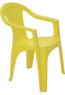 Cadeira Ilhabela- Amarela- 78,5X56X58Cm- Tramonttramontina