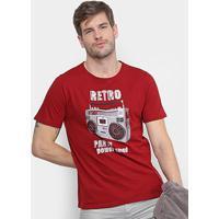 Camiseta Burn Power Sound Masculina - Masculino 0c3c7c32c71