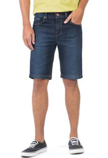 Bermuda Jeans Tinturada Stone Stone/44
