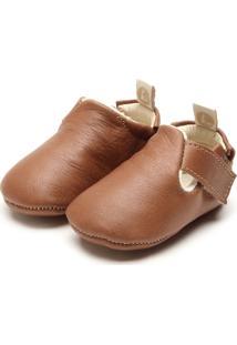 Sapato Tip Toey Joey Menino Caramelo