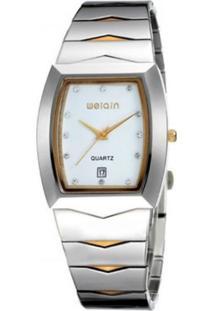 Relógio Weiqin Analógico W0045Bg - Branco
