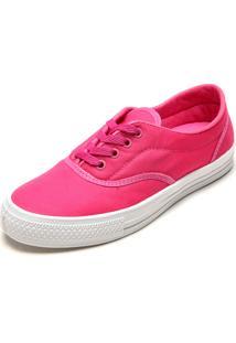 Tênis Dafiti Shoes Cadarço Rosa