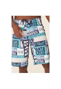 Boardshort Oneill Socal Azul