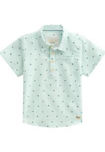Camisa Infantil Menino Milon Verde