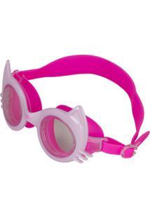 Óculos De Natação Speedo Cat - Infantil - Rosa