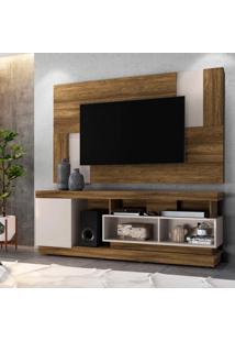 Rack Tijuca Com Painel Para Tv Até 55 Polegadas 1 Porta Delfos Colibri Móveis