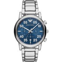 f66697c6bd3c7 Relógio Empório Armani Masculino Luigi - Ar11132 1Kn Ar11132 1Kn - Masculino -Prata