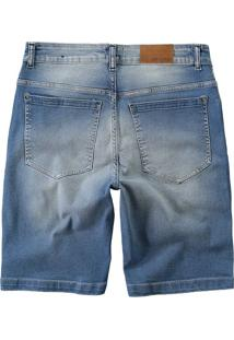 Bermuda Jeans Tradicional Puídos Malwee