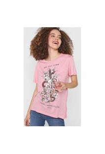 Camiseta Que Rosa