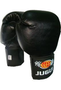 Luva Jugui Combate Boxe E Muay Thai Eco Preto