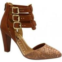 e3fbf82367 Sapato Scarpin Dakota Velivar - Feminino-Marrom
