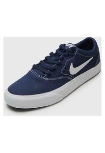 Tênis Nike Sb Sb Charge Slr Azul-Marinho