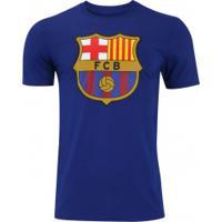 683214046d Camiseta Barcelona Evergreen Crew Nike - Masculina - Azul Escuro