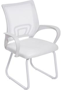 Cadeira Office Tok- Branca- 87X61,5X49Cm- Or Desor Design