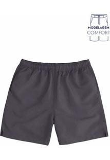 Shorts Básico Masculino Em Poliéster