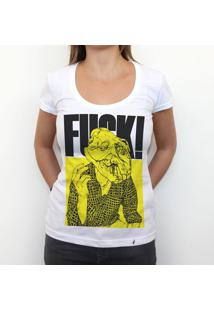 Fuck - Camiseta Clássica Feminina