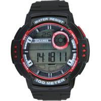 2bf7729aea6c9 Centauro. Relógio Digital X Games Xmppd502 - Masculino - Preto/Vermelho