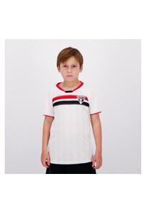 Camisa São Paulo Fold Insight Infantil Branca
