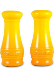 Saleiro E Pimenteiro Amarelo Soleil Le Creuset - Saleiro E Pimenteiro Amarelo Soleil Le Creuset