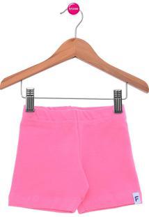Bermuda Clever Fakini Basic Rosa-Chiclete Lisa