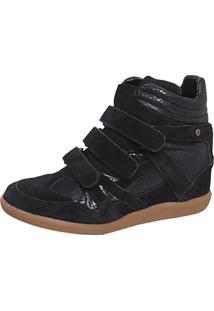 Sneaker Tng Cobra Preto