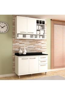 Cozinha Compacta New Vitoria 16 Branco Tx/Bianco - Hecol