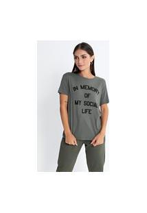 Camiseta Preview Social Life Verde