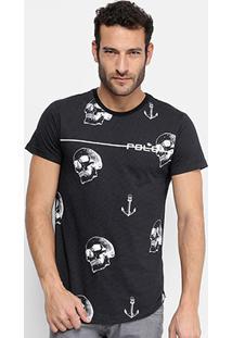 Camiseta Rg 518 Caveiras E Âncoras Masculina - Masculino 2193cd26bbd