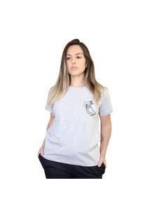 Camiseta Boutique Judith Deus Me Dibre Cinza