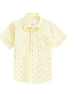 Camisa Infantil Menino Milon Amarela