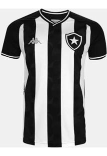 Camisa Infantil Botafogo Kappa I 2019 Masculina - Masculino