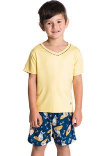 Pijama Surf Infantil Masculino Marine/10