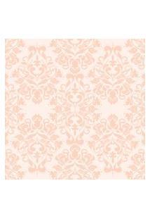 Papel De Parede Arabesco Rosê Gold 57X270Cm
