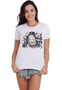 Camiseta Basica Joss Lgbt Venus Branca - Kanui
