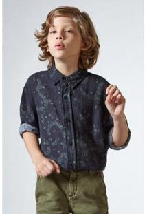 Camisa Infantil Plata Reserva Mini Masculino - Masculino-Preto